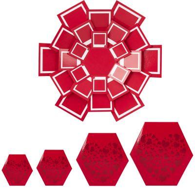 Patlayan Fotoğraf Kutusu (Kırmızı)