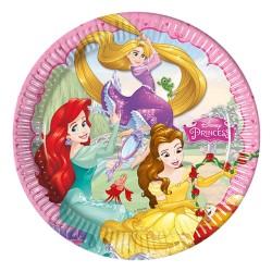 - Prenses Düşler Karton Tabak 23 cm 8'li