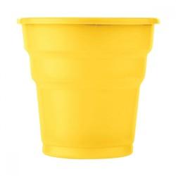 Kikajoy - Sarı Plastik Meşrubat Bardağı 10'lu