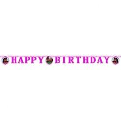 - Sevimli At Happy Birthday Harf Afiş