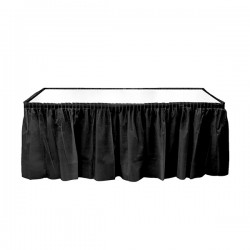 Kikajoy - Siyah Plastik Masa Eteği 75x426 cm