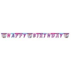 - Sofia Deniz İncisi Happy Birthday Harf Afiş