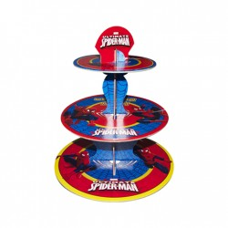 - Spiderman Lisanslı Cupcake Standı