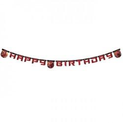- Spiderman Web Warriors Happy Birthday Harf Afiş