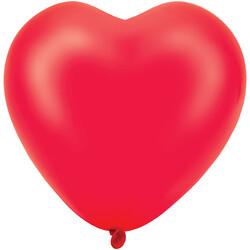 Kikajoy - Kikajoy Kalp Balon Kırmızı 8li