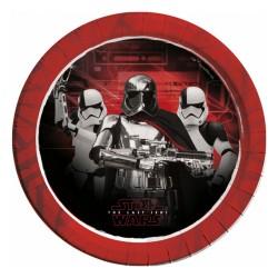 - Star Wars The Last Jedi Karton Tabak 23cm