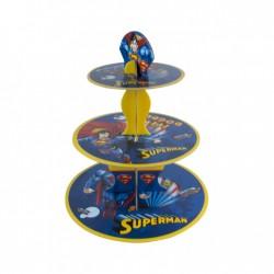 - Superman Lisanslı Cupcake Standı