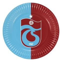 - Trabzonspor Karton Tabak 23 cm 8'li