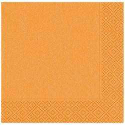 Kikajoy - Turuncu Kağıt Peçete 33x33 cm 20'li