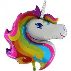Grabo - Unicorn Grabo Folyo Balon 18