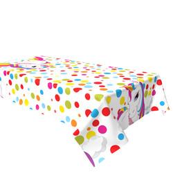 - Unicorn Rainbow Plastik Masa Örtüsü 120x180 cm