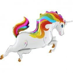 - Unicorn Rengarenk Grabo Folyo Balon 100 cm