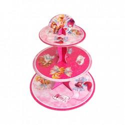 - Winx Lisanslı Cupcake Standı