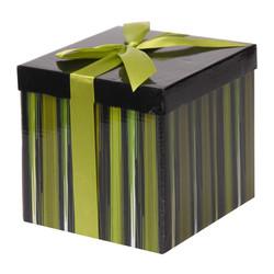- Yeşil Katlanabilir Hediye Kutusu 15,5x15,5 cm