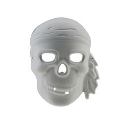 Kika - Boyanabilir Karton Korsan Maske